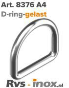 Rvs D-ring - Art. 8376 A4 | Rvs-inox.nl