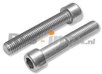 DIN 912 / ISO 4762 Rvs cilinderkopschroef met binnenzeskant